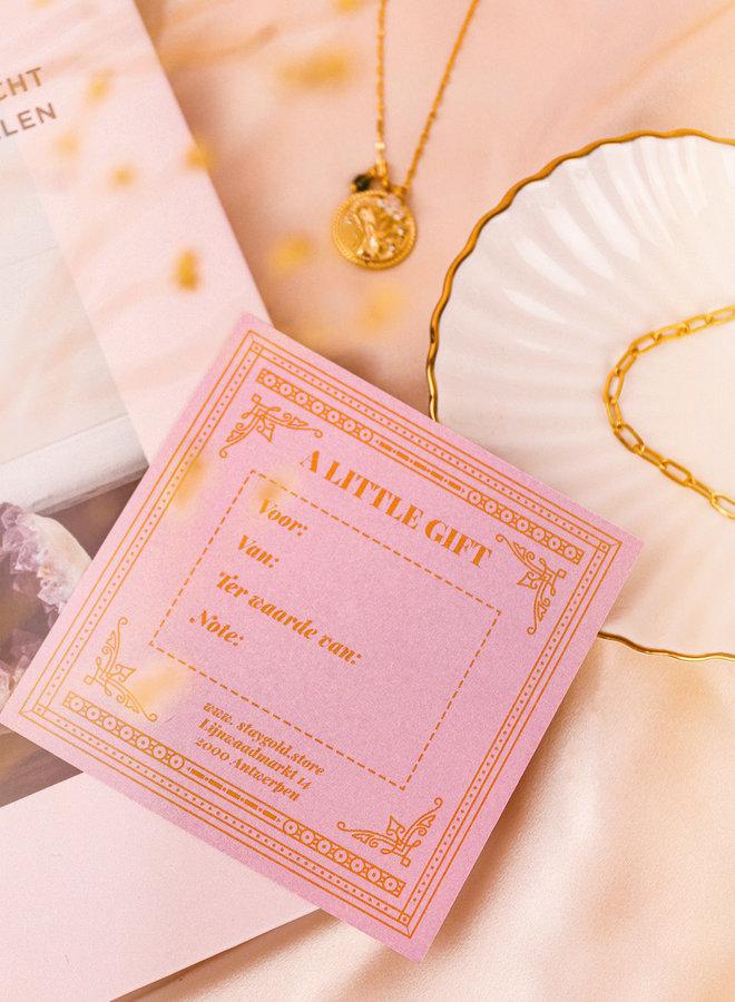 Gift Card: €5,00 -  €500,00