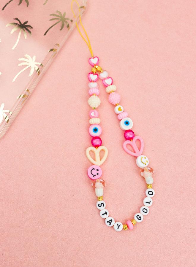 Pastel Hearts Phone Cord