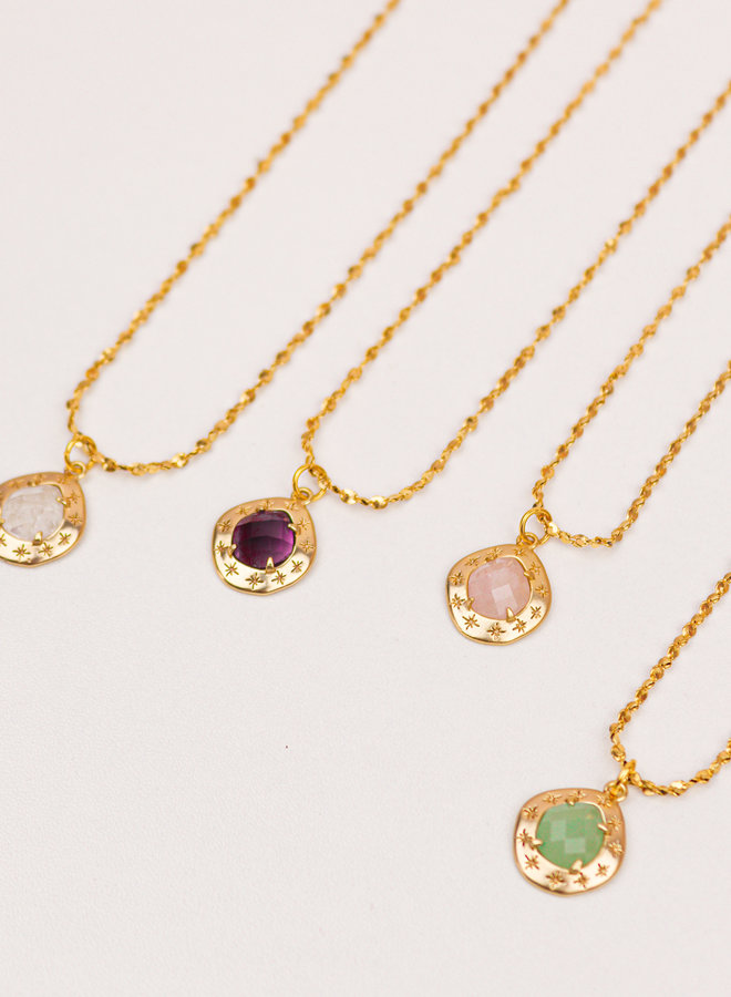 Stary Amethyst Necklace