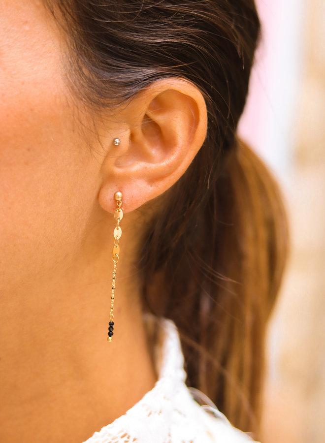 Little infinity stud earrings