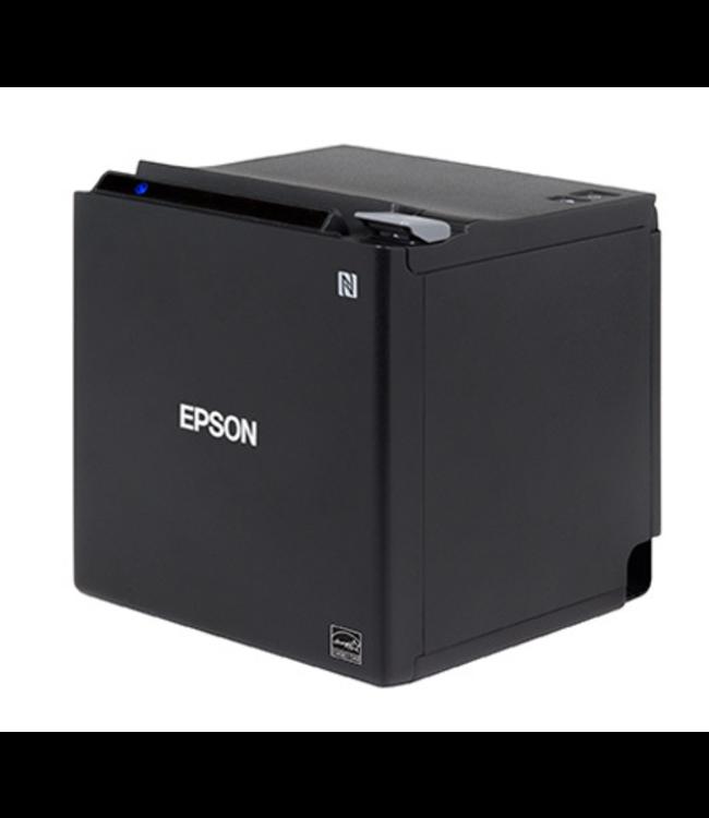 QIOX EPSON TM-M30 PRINTER: USB + ETHERNET + NES + BT, BLACK, PS, EU