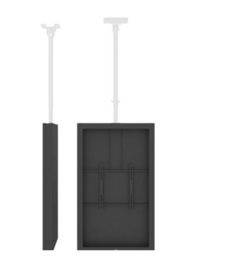 "QIOX 55"" TV Plafond behuizing systeem"
