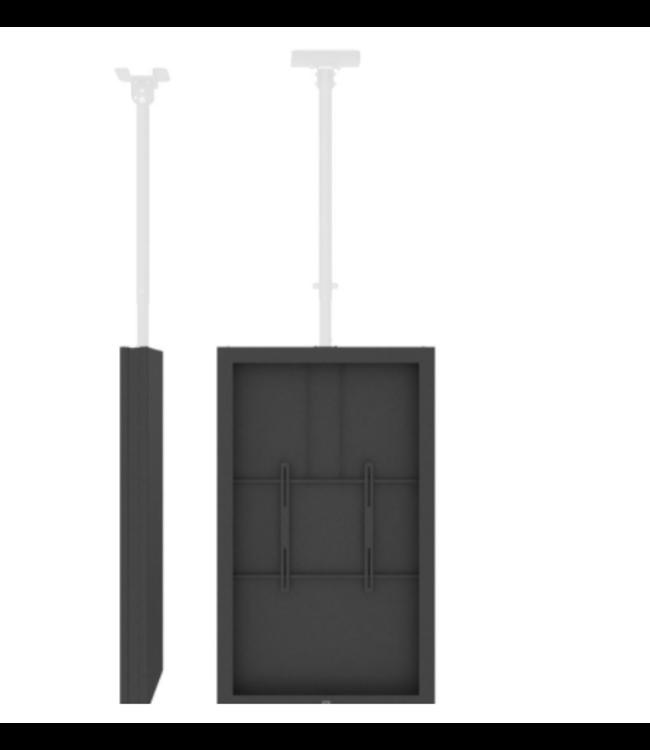 """QIOX 55"""" TV Ceiling enclosure system"""