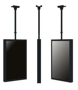 QIOX Plafond montage systeem met verstelbare buis
