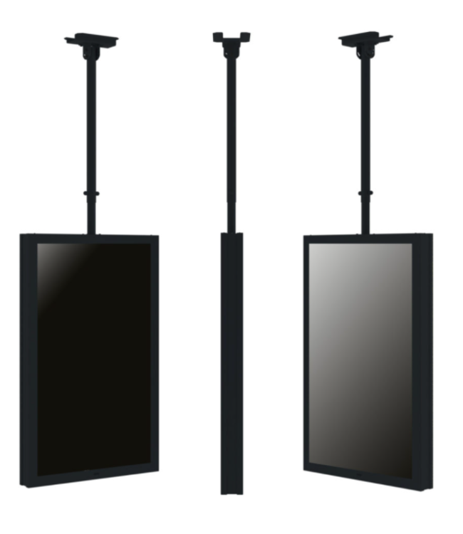 QIOX Ceiling mounting system with adjustable tube
