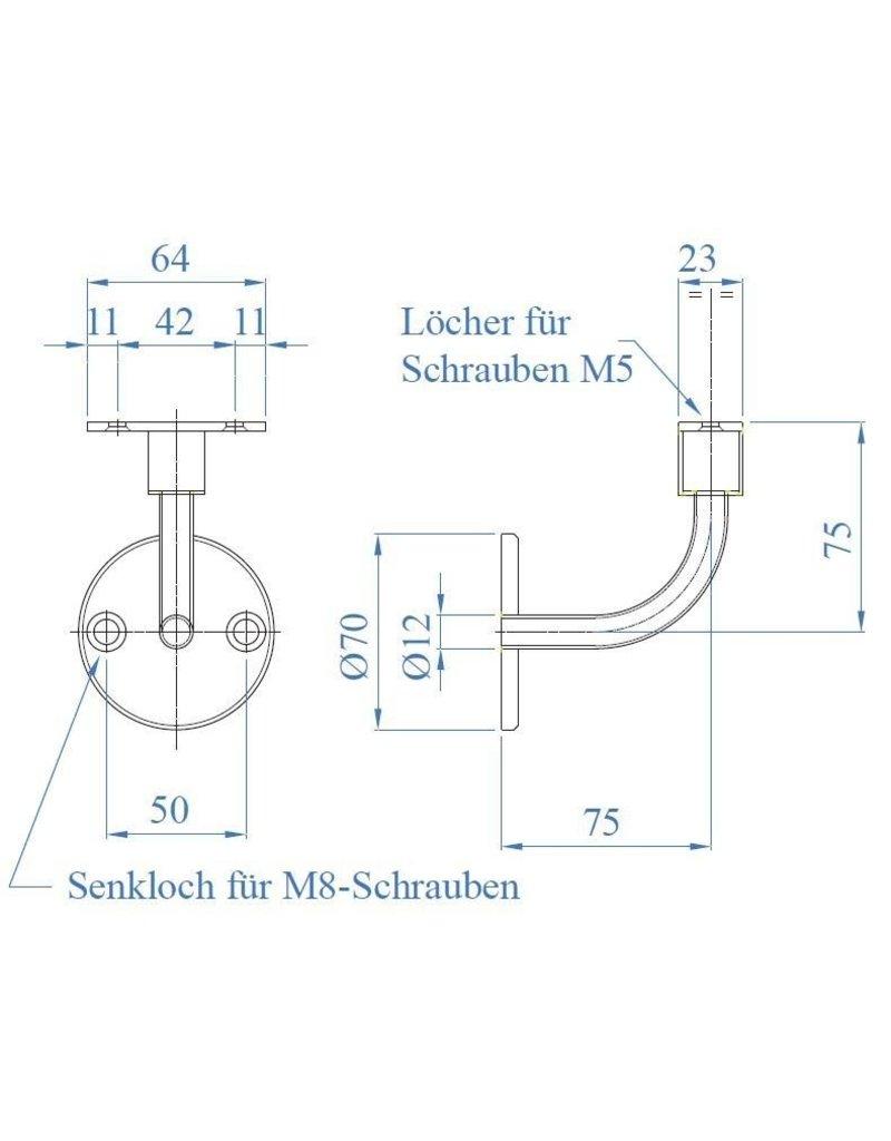 I AM Design LED Leuningdrager - wandbevestiging