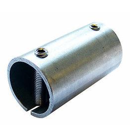 Triebenbacher Verbindingsstuk met klemschroeven M8 V2A - 42.4mm