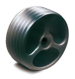 Triebenbacher adapteur plastique pour connection bois - inox 39.3x17mm