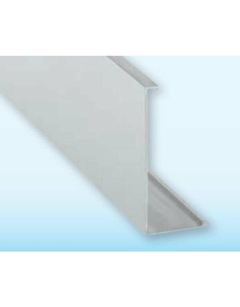 Glassline Glasbalustrade Afdekplaat Core - 3000mm - SIDE 1