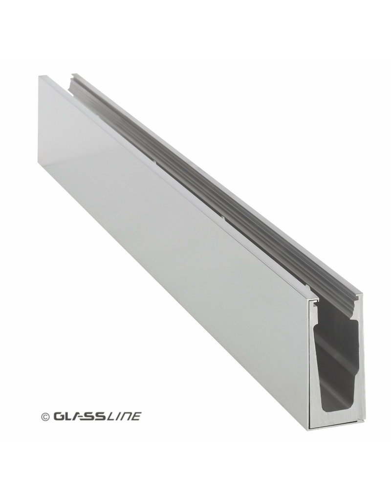 Glassline Glasbalustrade Balardo Core - 3000mm - SIDE 1