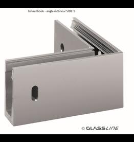 Glassline Angle 90° Balardo core garde-corps - SIDE 1