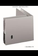 Glassline Angle 90° Balardo core garde-corps - SIDE 2