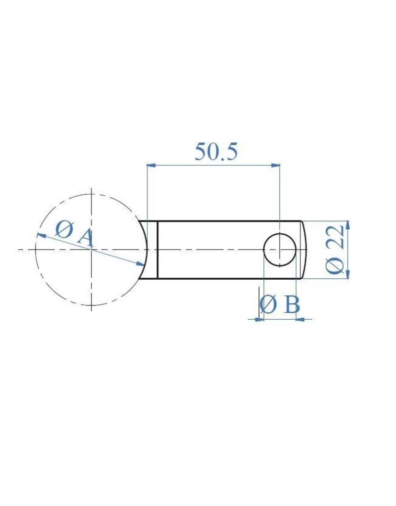 Triebenbacher Support sous-lisse V2A