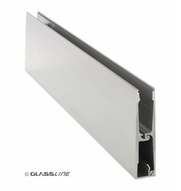 Glassline Garde-corps en verre CORE - 3000mm - SIDE 2