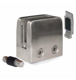 Triebenbacher pince à verre V2A modèle 25 - 52x52x32.5mm pour verre 8 - 12.76mm