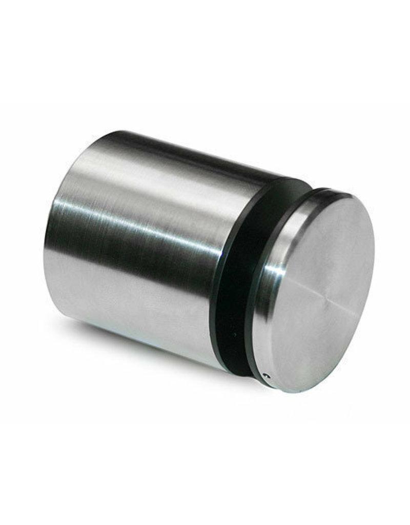 puntglasklemhouder V4A voor glas 8 - 17.52mm