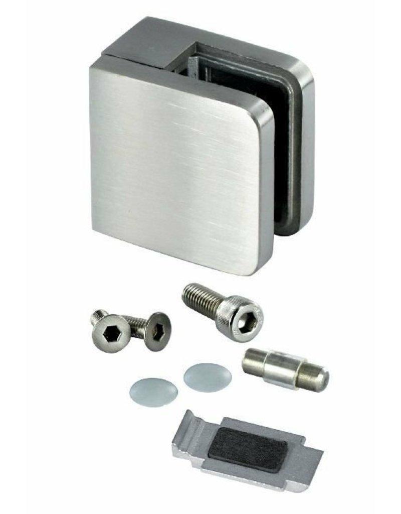 glasklem ZINK RVSlook model 21 - 45x45x26mm voor glas 6 - 10.76mm