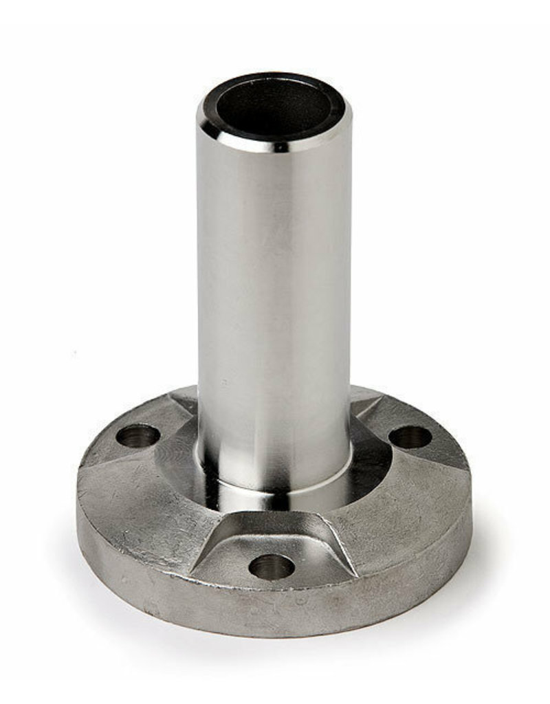 Triebenbacher bodemanker V4A voor ronde buis 42.4x2mm