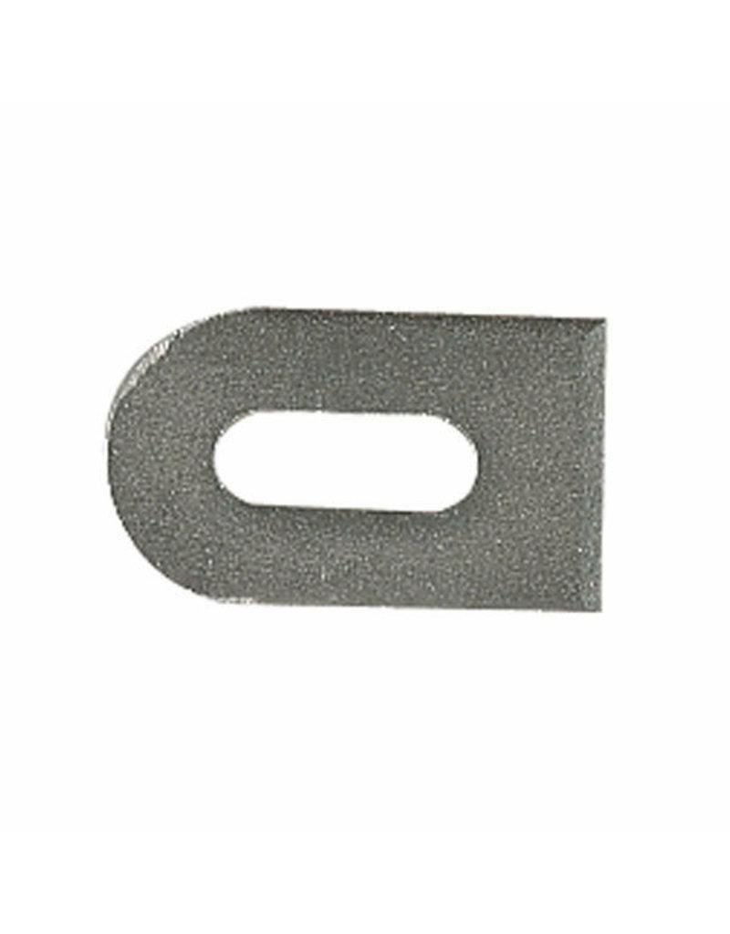 laslip brut V2A - 50x30x5mm