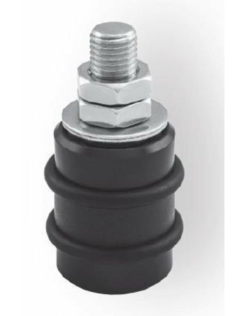 CAIS SFB 42/16 - Rouleau de guidage en nylon avec anneau et chaoutchouc souple