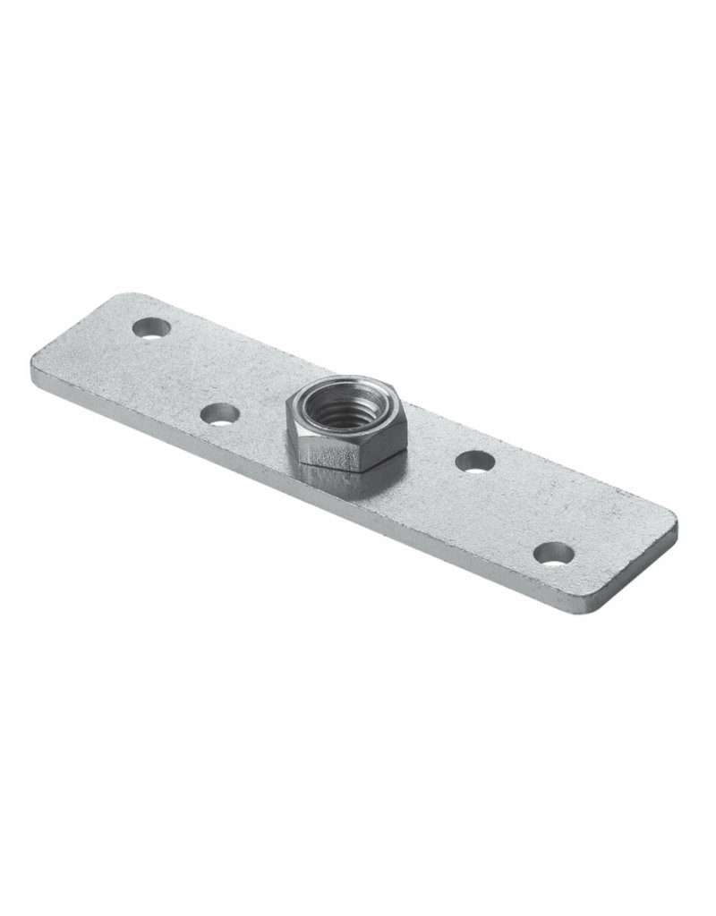 CAIS Platine de support reglable en hauteur pour portes coulissantes et volets