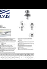 CAIS Dubbel wielenblok M8 met open lager
