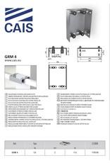 CAIS Platine guide quatre rouleaux réglable