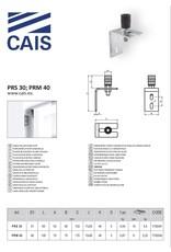 CAIS geleidingsplaat met enkelvoudige rol