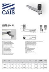 CAIS Plaque de guidage à un seul rouleau
