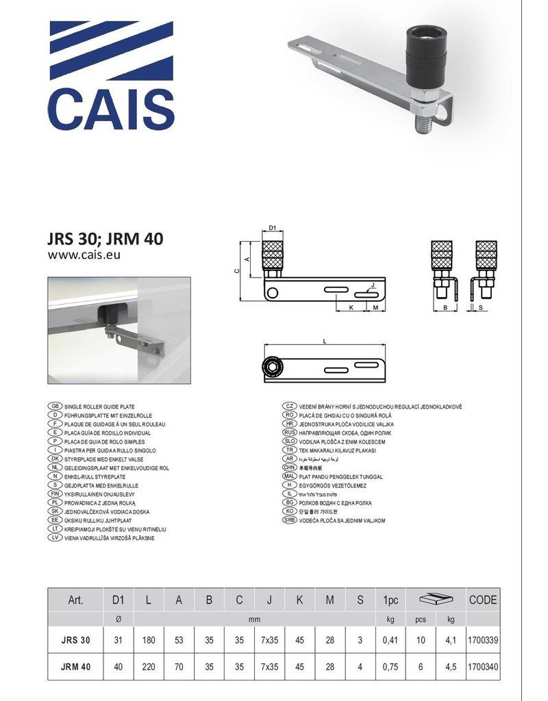 CAIS geleidingsrol met enkelvoudige rol