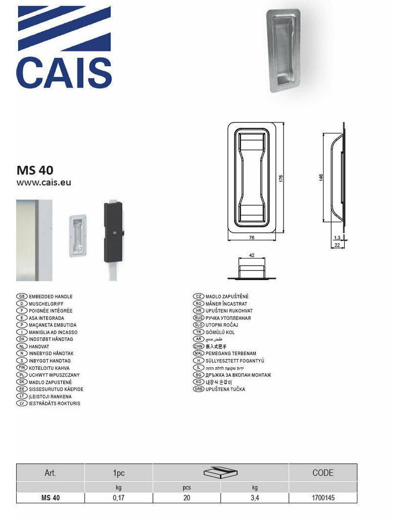 CAIS Poignée integrée