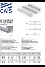 CAIS Support profile pour bas de porte brosse