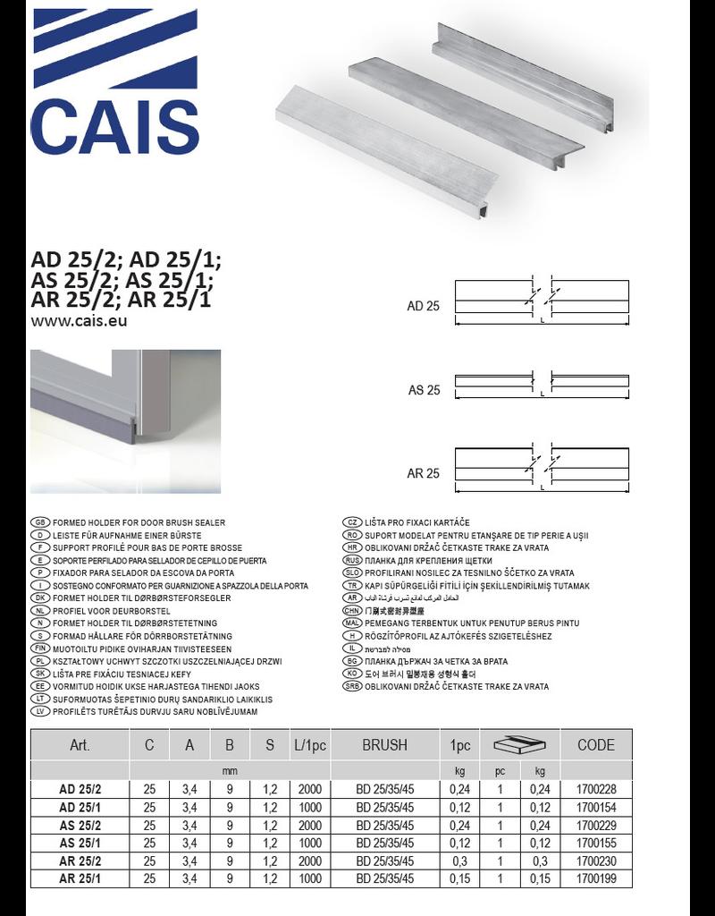 CAIS Profiel voor deurborstel