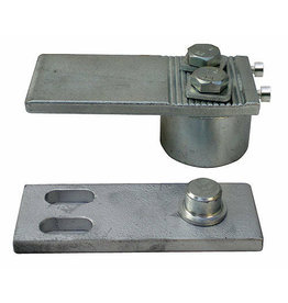 Triebenbacher Set scharnier verstelbaar - 50x110mm - 300kg