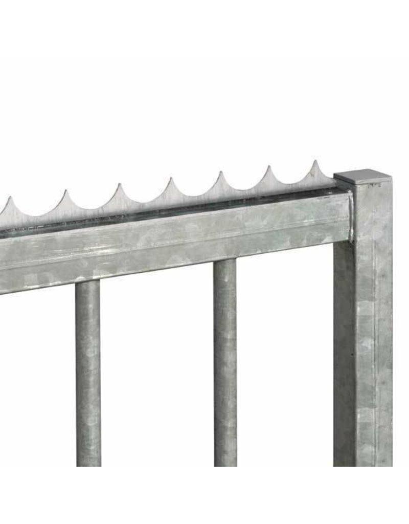 Triebenbacher Barre de sécurité galvanisé 2000mm - 33x3mm