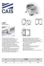 CAIS Butée betonnée, pour portails à vantaux