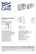 CAIS Bovenste steunpunt met lagers