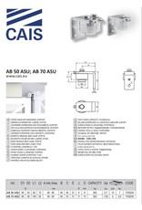 CAIS Charnière supérieur avec roulements, support