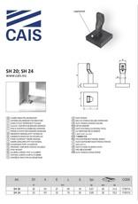CAIS Onderste draaipunt en steunplaat