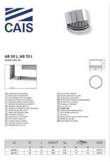 CAIS Onderste scharnierplaat met druklager