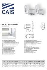 CAIS Charniere inférieure avec roulements, support