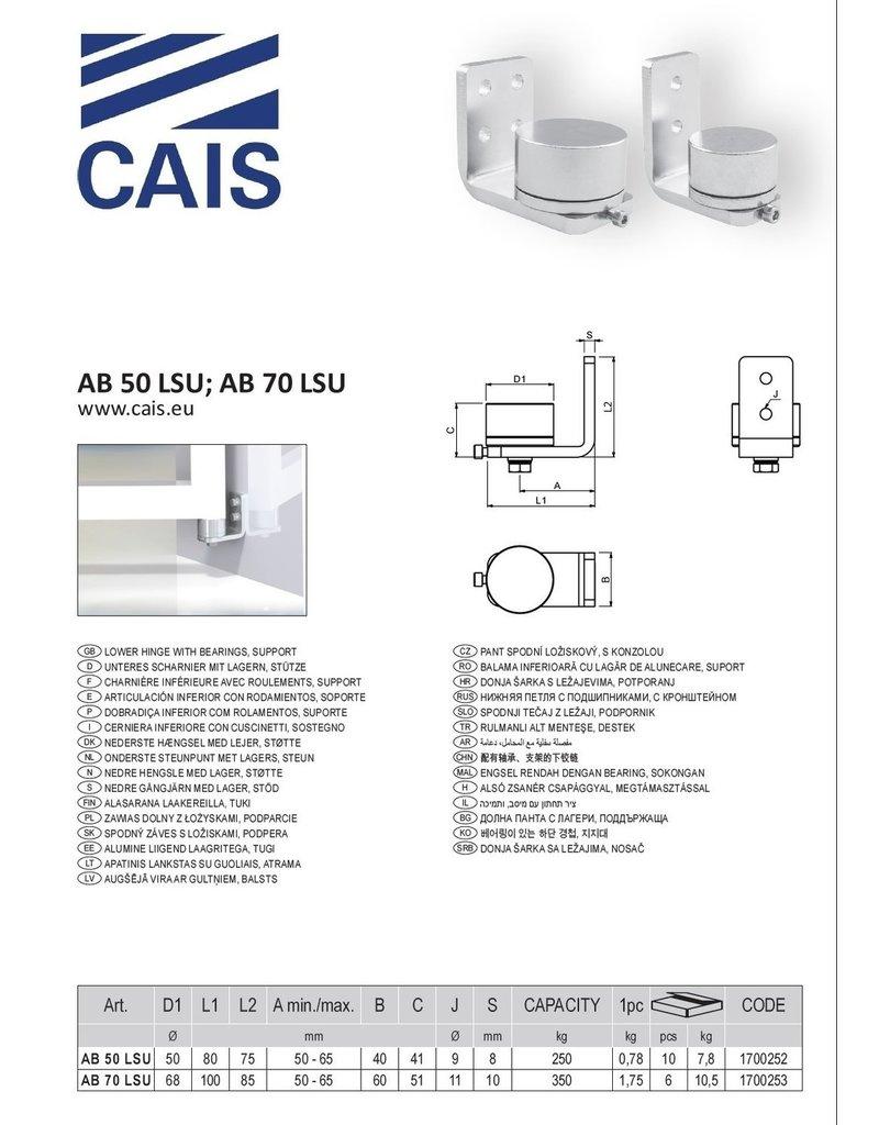 CAIS Onderste steunpunt met lagers