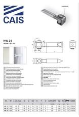 CAIS Verstelbaar scharnier voor metselwerk