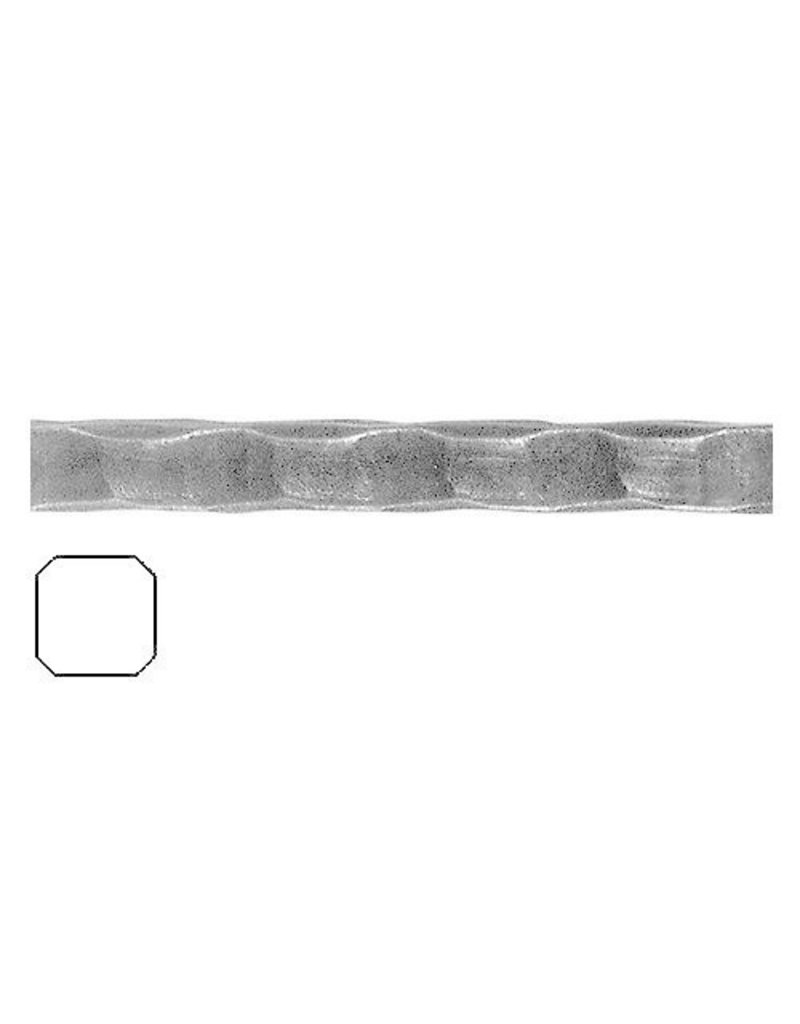 Triebenbacher gehamerde staaf 14x14mm - 3000mm