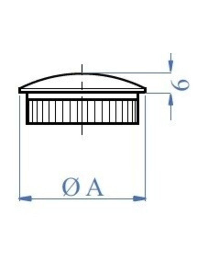 I AM Design Bouchon massif oval
