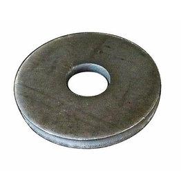 Triebenbacher bodemplaat staal - gat Ø12mm - dikte 5mm