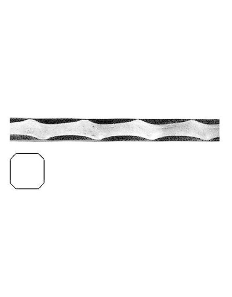 Triebenbacher barre martelé plein 12x12mm - 3000mm