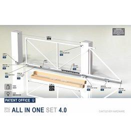 CAIS All In One Set - 325kg - 4m - met geleidingsprofielen