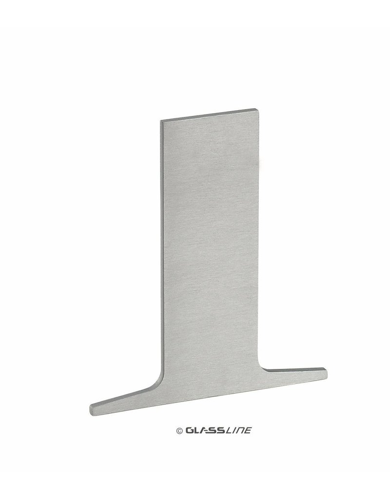 Glassline Glasbalustrade afsluitkap Core - TOP 2