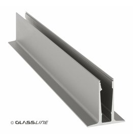Glassline Garde-corps en verre CORE - 3000mm - TOP 2